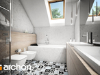 projekt Dom w brunerach (G2) Wizualizacja łazienki (wizualizacja 3 widok 1)