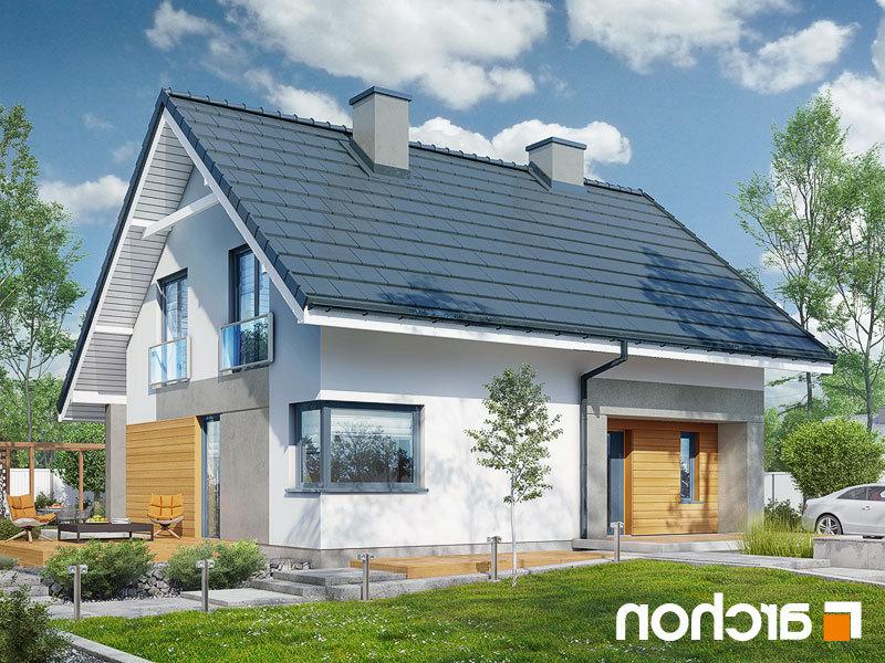 Lustrzane odbicie 1 projekt dom w malinowkach p  289lo