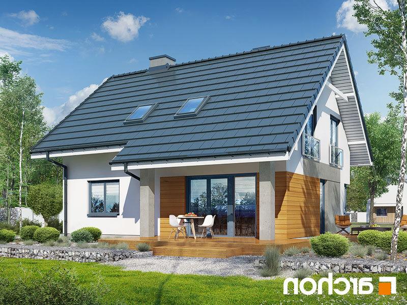 Lustrzane odbicie 2 projekt dom w malinowkach p  290lo