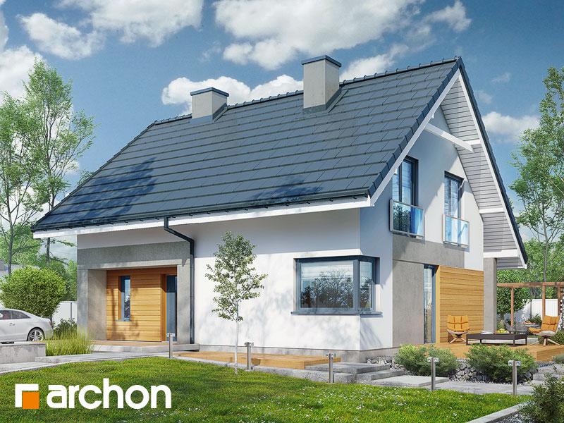 gotowy projekt Dom w malinówkach (P) widok 1