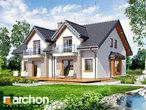 projekt Dom w cyklamenach 2 Wizualizacja wszystkich segmentów