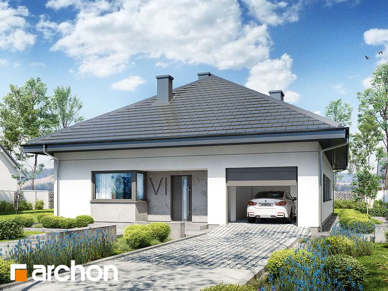 gotowy projekt Dom w cieszyniankach 2 widok 1