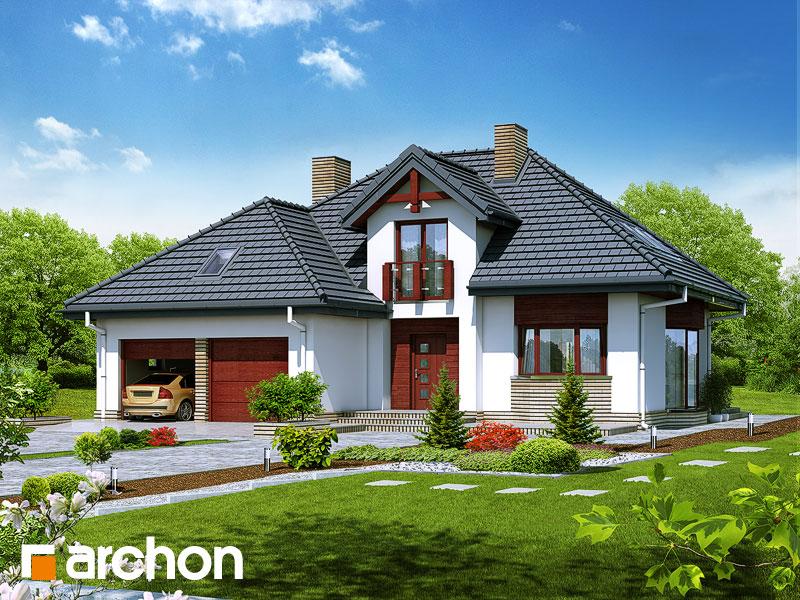 gotowy projekt Dom w kalateach 2 (T) widok 1