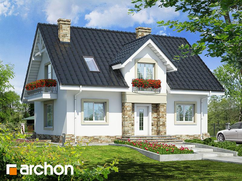 gotowy projekt Dom w lucernie (P) widok 1