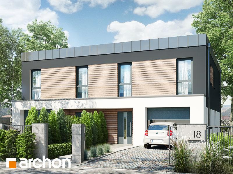 gotowy projekt Dom pod miłorzębem 14 (GR2) widok 1