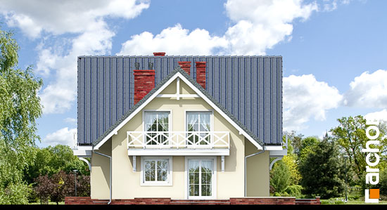 Elewacja boczna projekt dom w borowikach ver 2  265