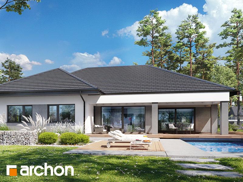 gotowy projekt Dom w przebiśniegach 19 (G2E) widok 1