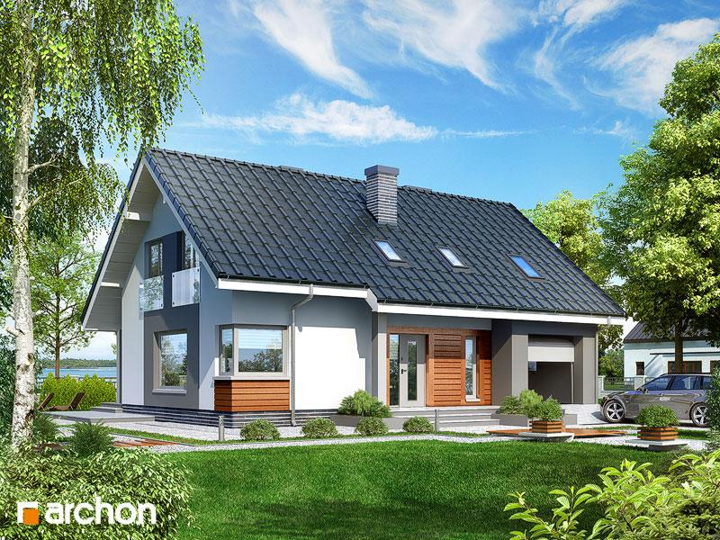 gotowy projekt Dom w złoci widok 1