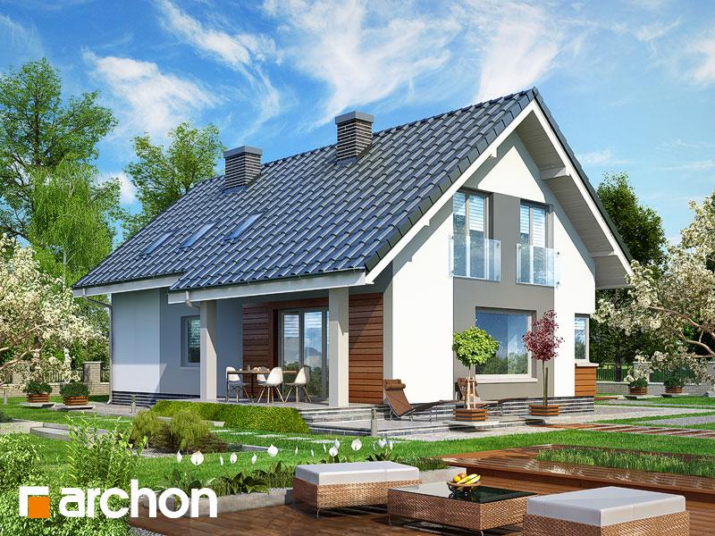 gotowy projekt Dom w złoci widok 2