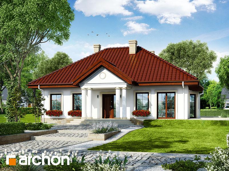 gotowy projekt Dom w gaurach 3 widok 1