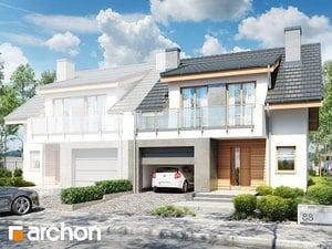projekt Dom w klematisach 23 (B)