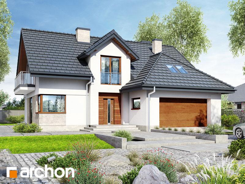 gotowy projekt Dom w kortlandach (G2) widok 1