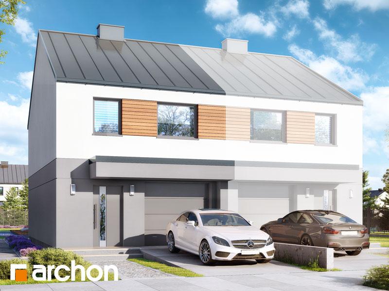 gotowy projekt Dom w riveach (GBA) widok 1