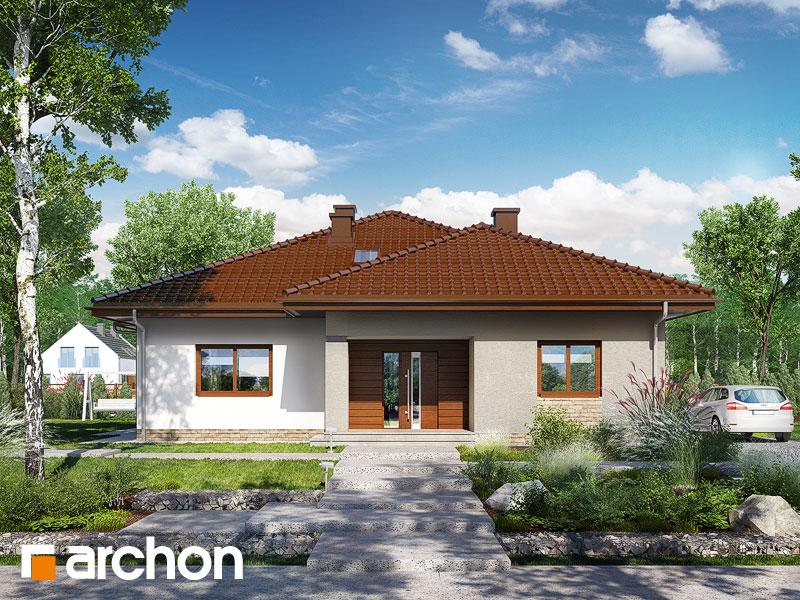 gotowy projekt Dom w jonagoldach 2 widok 1