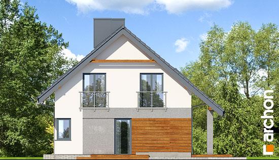Elewacja boczna projekt dom w malinowkach 4 p  265
