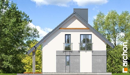 Elewacja boczna projekt dom w malinowkach 4 p  266