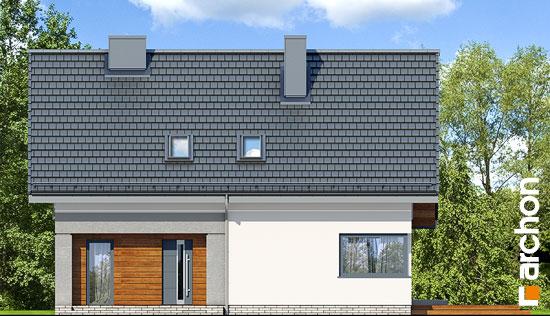 Elewacja frontowa projekt dom w malinowkach 4 p  264