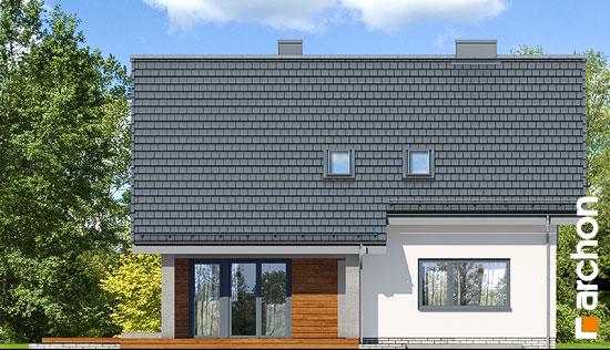 Elewacja ogrodowa projekt dom w malinowkach 4 p  267
