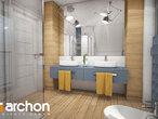 projekt Dom w malinówkach 4 (P) Wizualizacja łazienki (wizualizacja 3 widok 2)