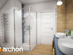 projekt Dom w malinówkach 4 (P) Wizualizacja łazienki (wizualizacja 3 widok 3)