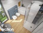 projekt Dom w malinówkach 4 (P) Wizualizacja łazienki (wizualizacja 3 widok 4)