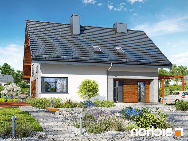 Lustrzane odbicie 1 projekt dom w malinowkach 4 p  289lo