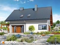 projekt Dom w malinówkach 4 (P) widok 1