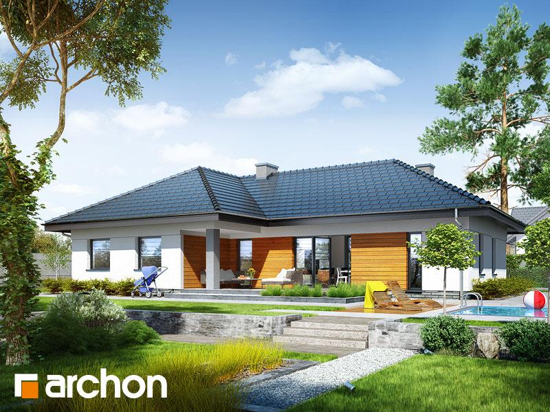 gotowy projekt Dom w nawłociach (G2T) widok 1