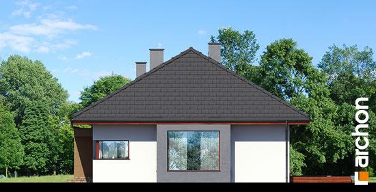 Elewacja boczna projekt dom pod jarzabem n ver 2  265