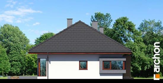 Elewacja boczna projekt dom pod jarzabem n ver 2  266