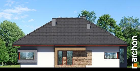 Elewacja frontowa projekt dom pod jarzabem n ver 2  264