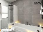 projekt Dom pod jarząbem (N) Wizualizacja łazienki (wizualizacja 4 widok 1)