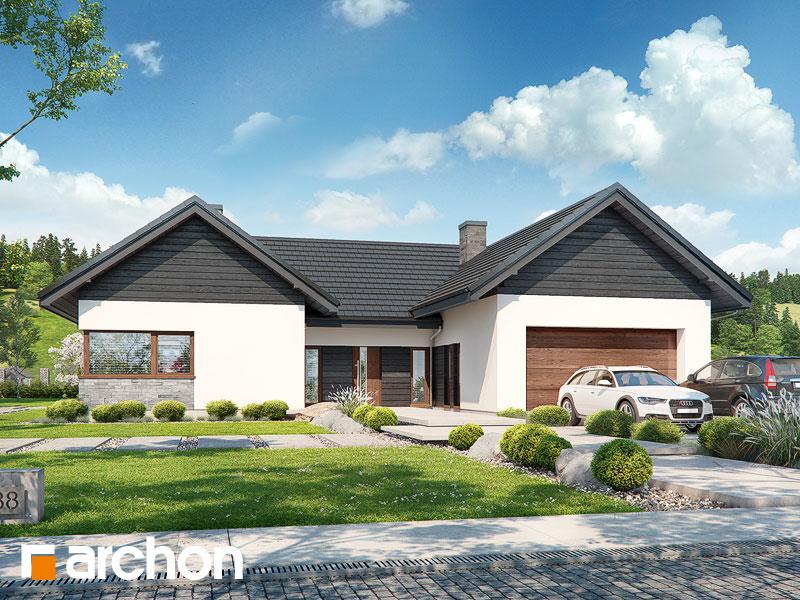 projekt Dom w kliwiach 5 (G2) widok 1
