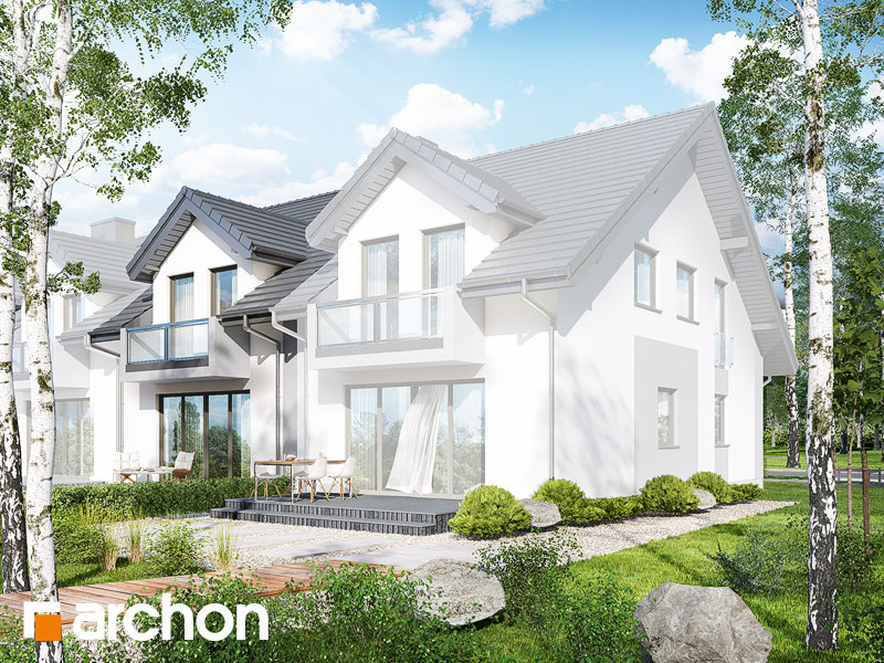 gotowy projekt Dom pod miłorzębem 7 (GS) widok 2