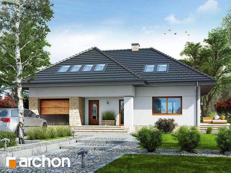 gotowy projekt Dom w obielach widok 1