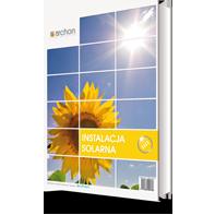 Projekt instalacji solarnej - Dom w orliczkach (G2P)