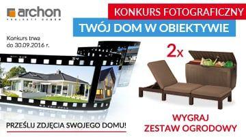Konkurs foto - Dom w obiektywie